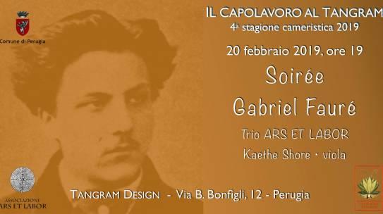 2019-02-20- Soirée Gabriel Fauré con Ars et Labor