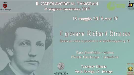 2019-05-15- Il giovane Richard Strauss